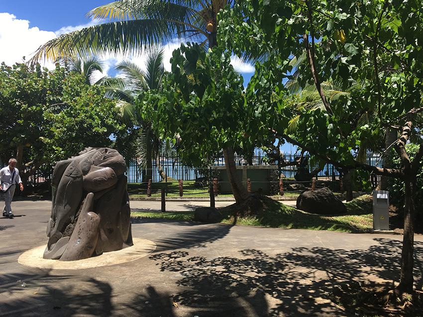 Ancienne place des pêcheurs à Papeete